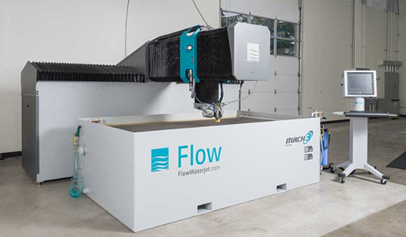 世界屈指の信頼を誇る<br /> Flow 社のウォータージェット