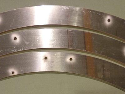 無酸素銅 C1020 ウォータージェット切断加工