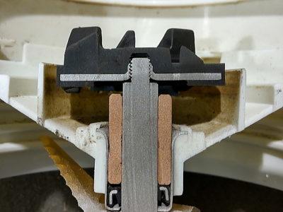 回転系複合材部品ウォータージェット切断加工